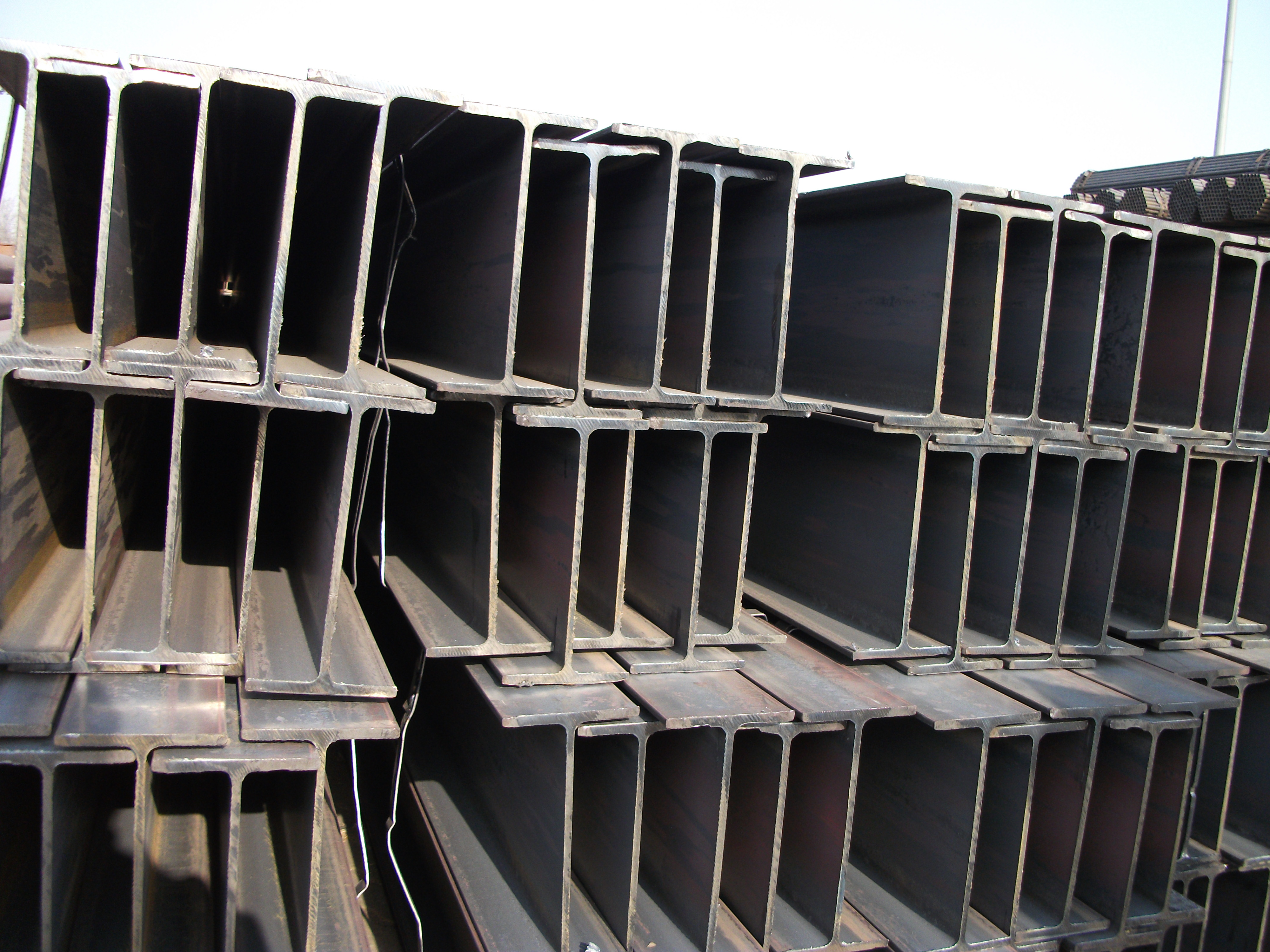 Standard Size High Quality Steel H Beams from China