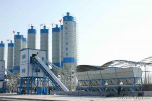 High quality concrete mixing plant production capacity 50m3 per hour