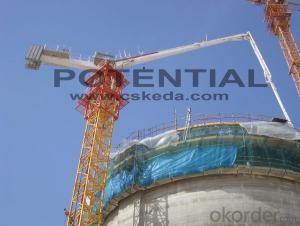 HG38 Anchoring Concrete Placing Boom