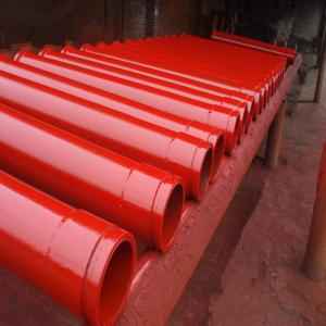 Sany concrete pumps parts 5'' concrete delivery pipe