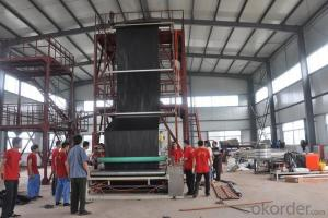 Three Layer Coextrusion Plastic Film Blowing Bag Making Machine