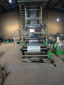 China Three Layer Coextrusion Film Blowing Machine