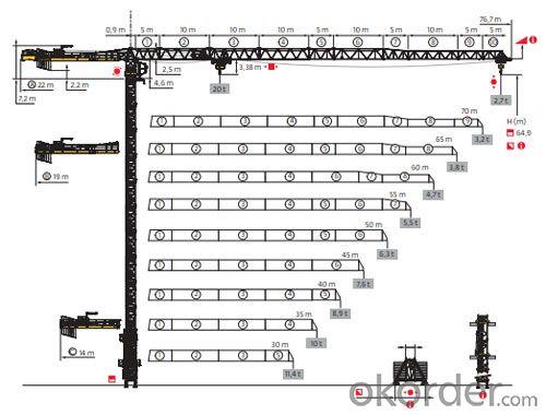 Potain Tower Crane--MCT370