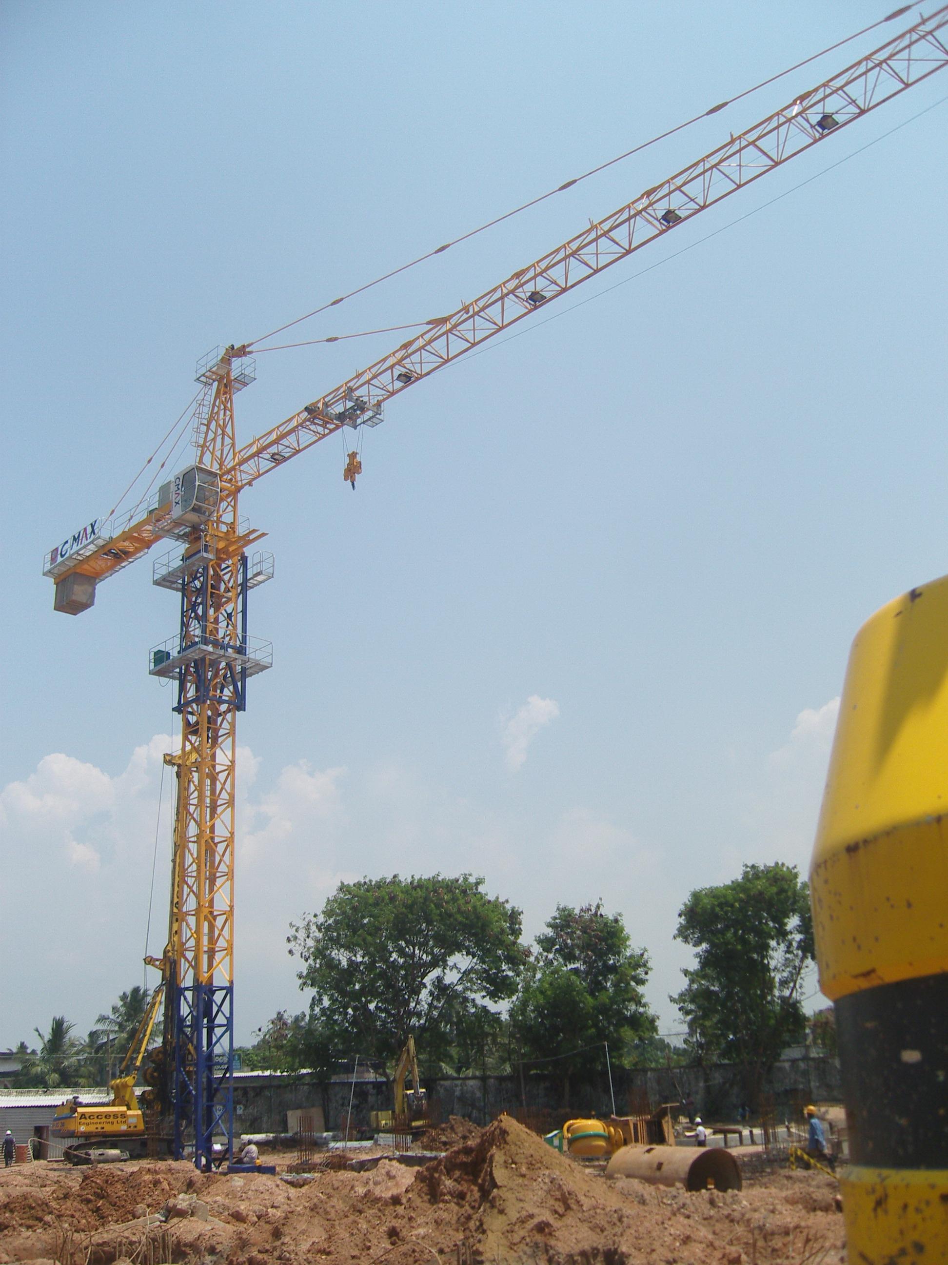 ZHONGLIAN BRAND TOWER CRANE SL7030