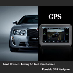 Land Cruiser - Luxury 4.3 Inch Touchscreen GPS Navigator L333