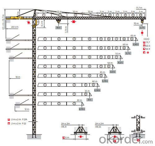 Potain Tower Crane--MC320K16