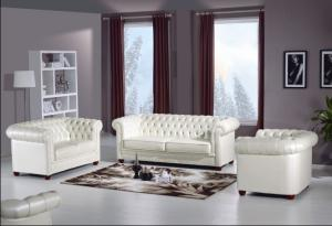 Classic chesterfield sofa set 1 seater 2 seater 3 seater real leather