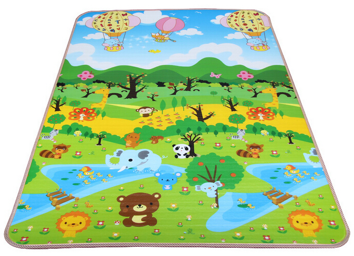 EPE, XPE 180x120x1cm single sided infant playing carpet