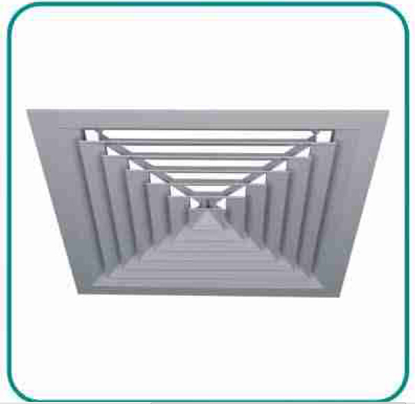 Square Ceiling Diffusers