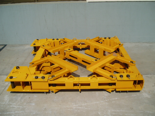 ANCHOR FRAME FOR TOWER CRANE