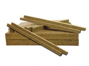 Rock wool strip for insulation