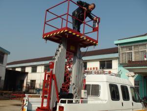 Double Mast aerial work platform