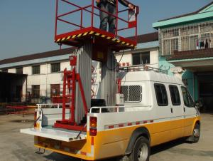 Mast-Car-carrying hydraulic lifting table