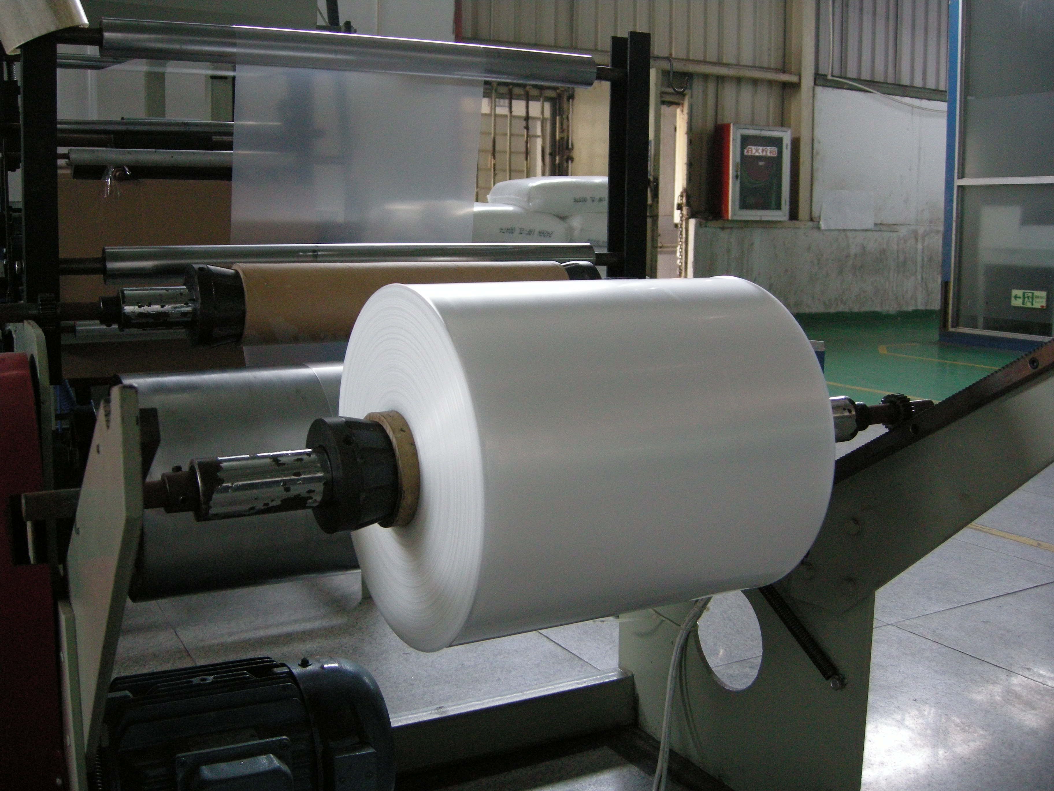 PE Plastic Film Blowing Machine Blown Film Machine