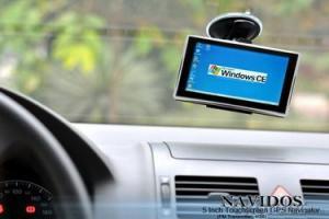 Navidos 5 Inch Touchscreen GPS Navigator L325