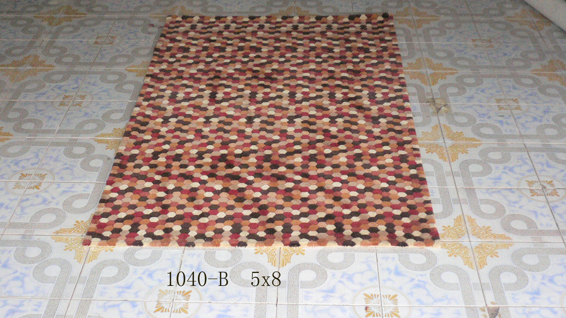 Handmade Polyester Floor Carpet