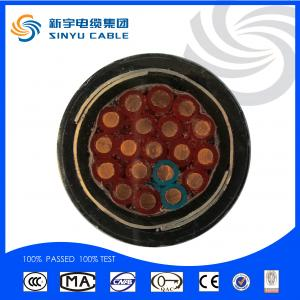 Flame retardant house wiring electrical control cable