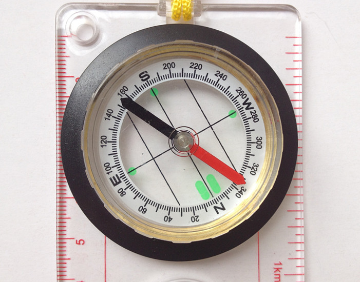 Acrylic Map compass DC45-5A