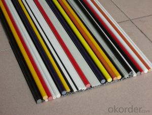 Epoxy Resin Reinforcing Fiberglass FRP Threaded Rod