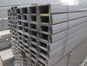 Prime Low Carbon Hot Rolled JIS U Channel