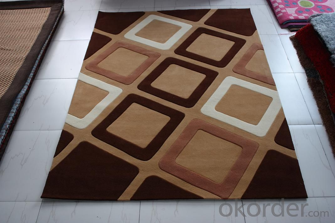 Polyester Hand Tufted Rug