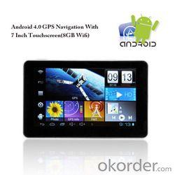 Seven inch android 4.0 tablet gps navigation L335