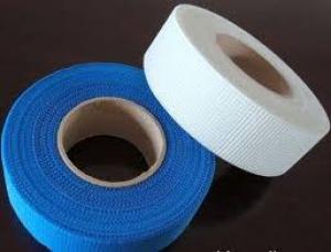Self-adhesive fiberglass mesh tape