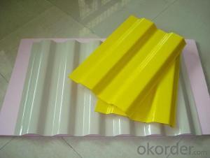 Reinfornce Glass Fiber Corrugated Panel