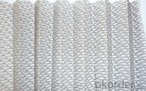 Special Design Polyester Pleated mesh