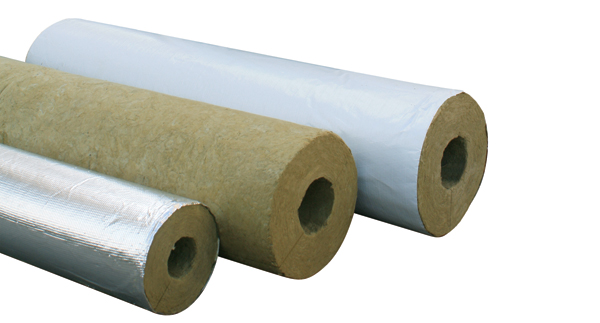 Rock wool pipe shell