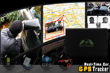 Real-Time Car GPS Tracker - Magnetic, Weatherproof L003