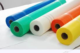 Self-adhesive fiberglass mesh cloth 165g