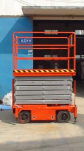Twelve  meters  mobile lift table