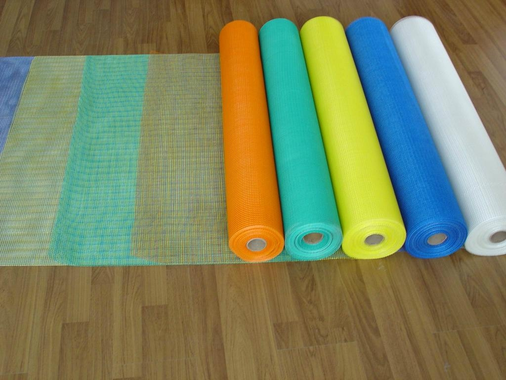 Self-adhesive fiberglass mesh cloth 125g