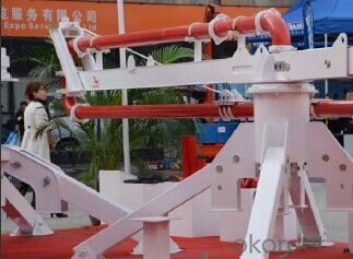 Mechanical Distributor Type Concrete Placing Boom 10M