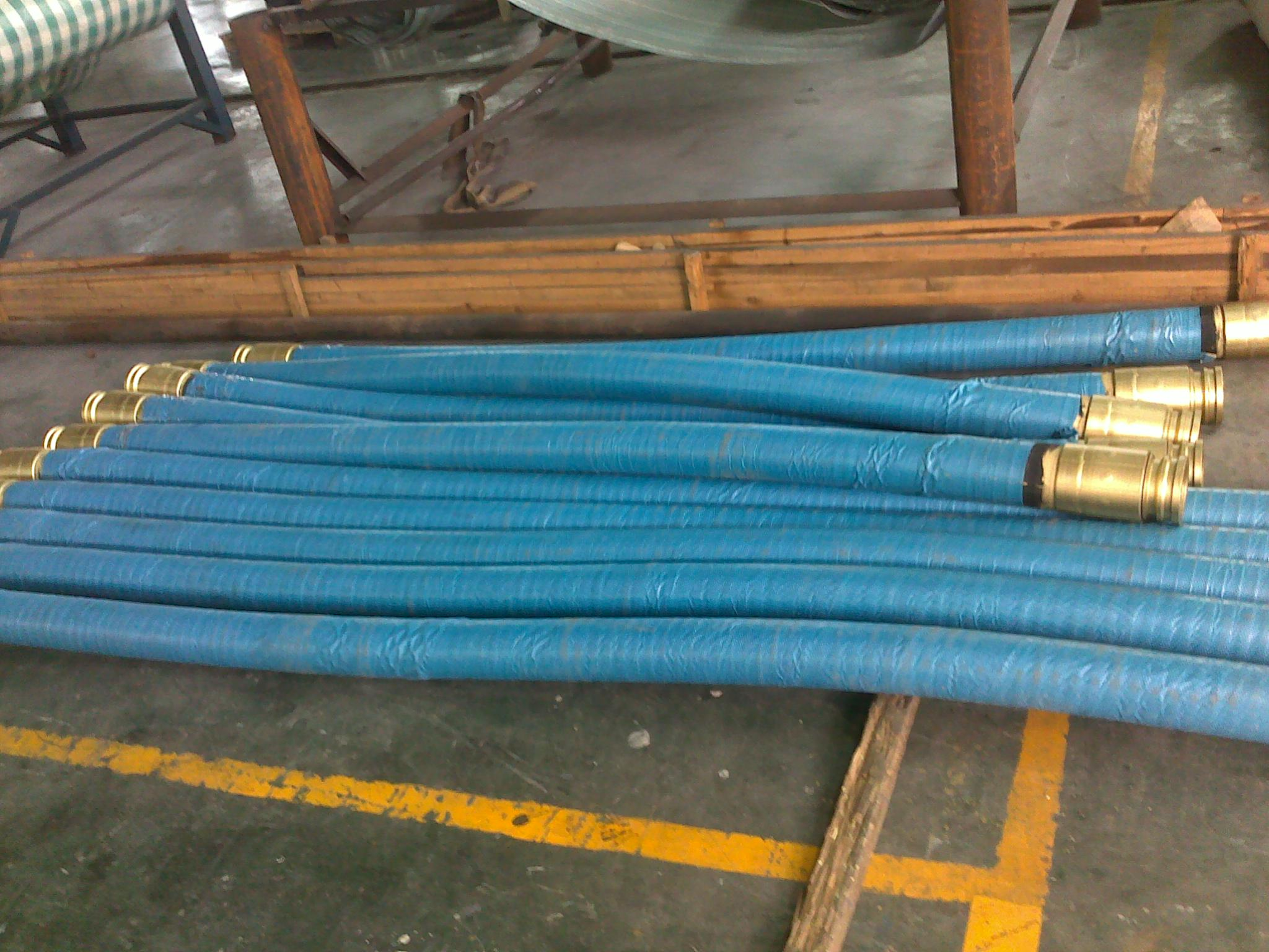 Concrete Pump Rubber End Hose DN64