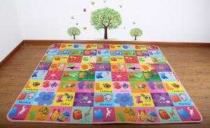 EPE,XPE 200X180X1cm single-sided printed children mat