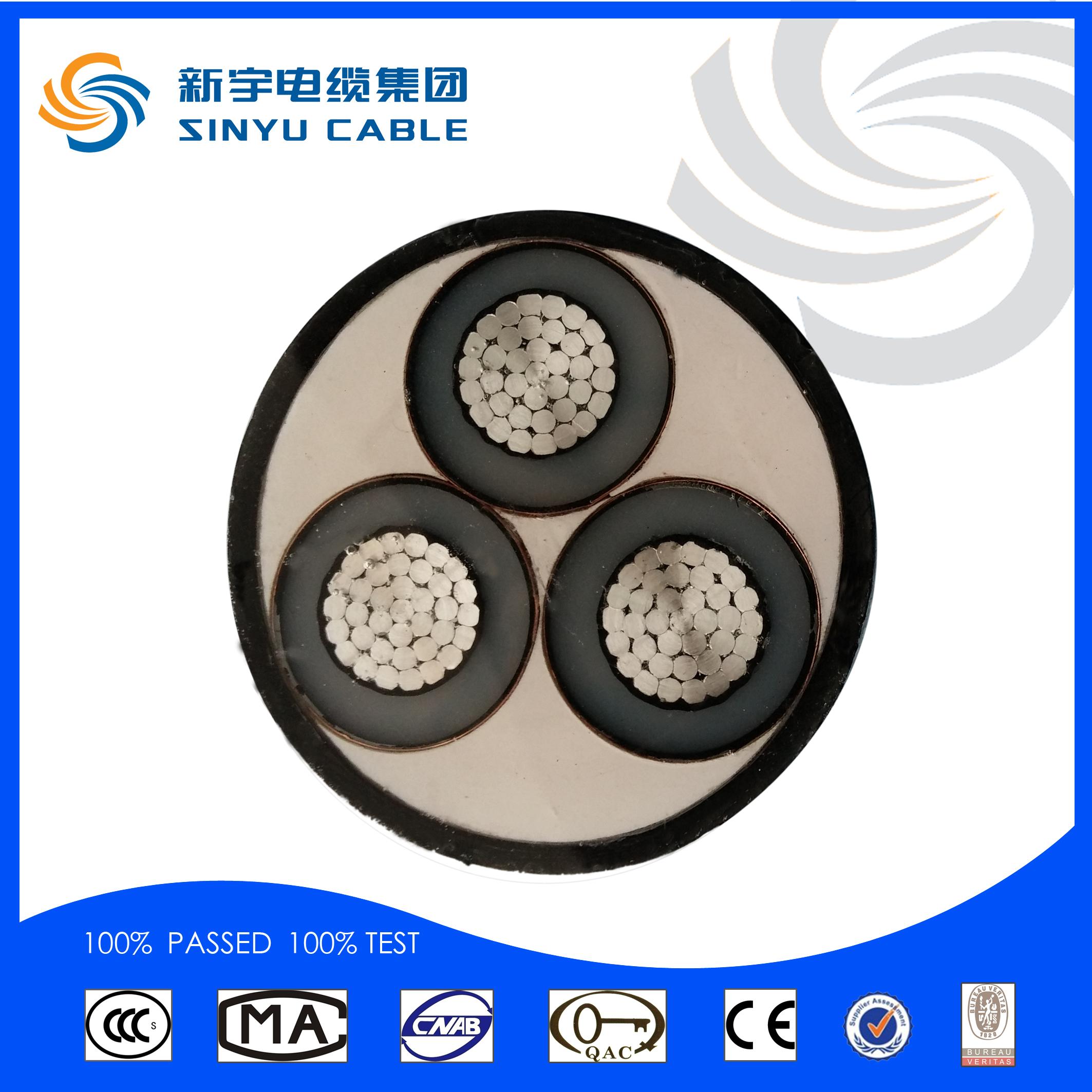 XLPE Middle Votage Al Core Power Cable 6-10kV