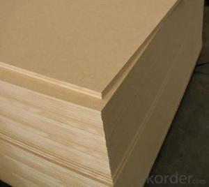 Good Density Raw Light MDF Fiber Board Thickness 17mm