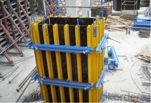 Square Concrete Column Formwork
