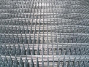 welded wire mesh sheet panel galvanized pvc coated