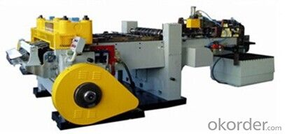 Automatic Tinplate Sheet Scroll Shearing Machine Cutting Machine