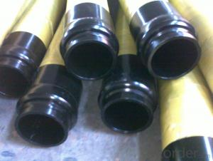 Concrete Pump Rubber End Hose with Brunofix Flange