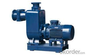 ZWII series self-priming sewage pump