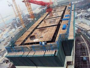 Efficient Automatic Climbing Formwork System ACS50 for High Building