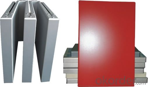 Coated Square Aluminium Panel