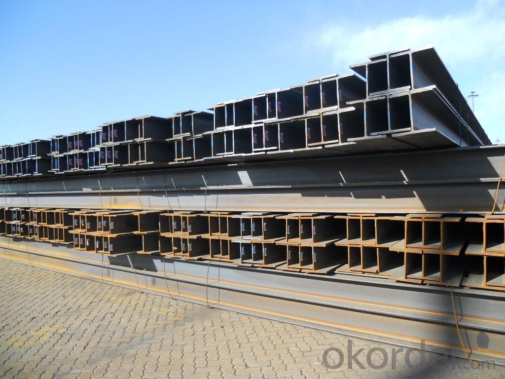 JIS Standard SS400 H beams with High Quality 394mm-400mm