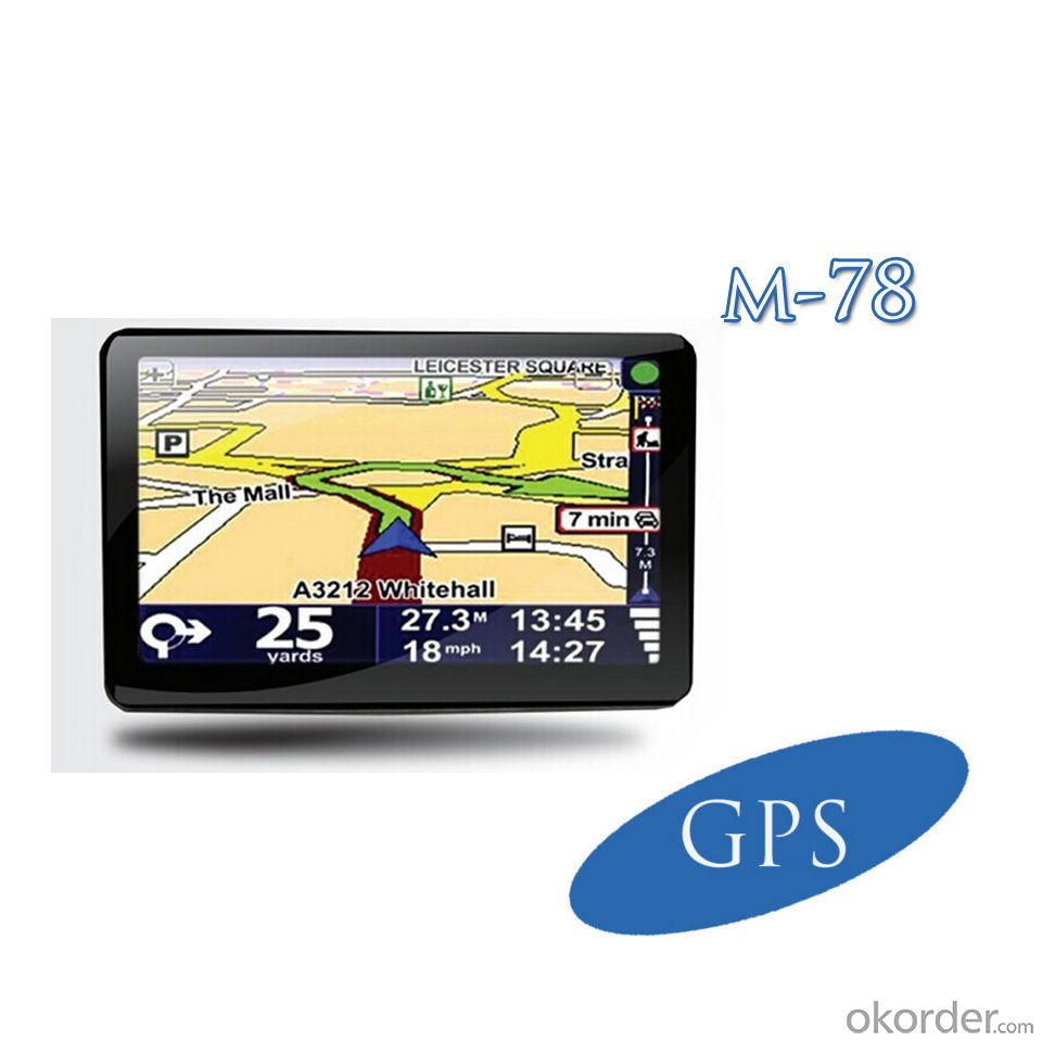 Hot 7 inch MSB2531 ARM Cortex A7 32bir 800MHZ Car GPS Navigator