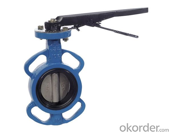 Ductile Iron Shouldered Butterfly Valves
