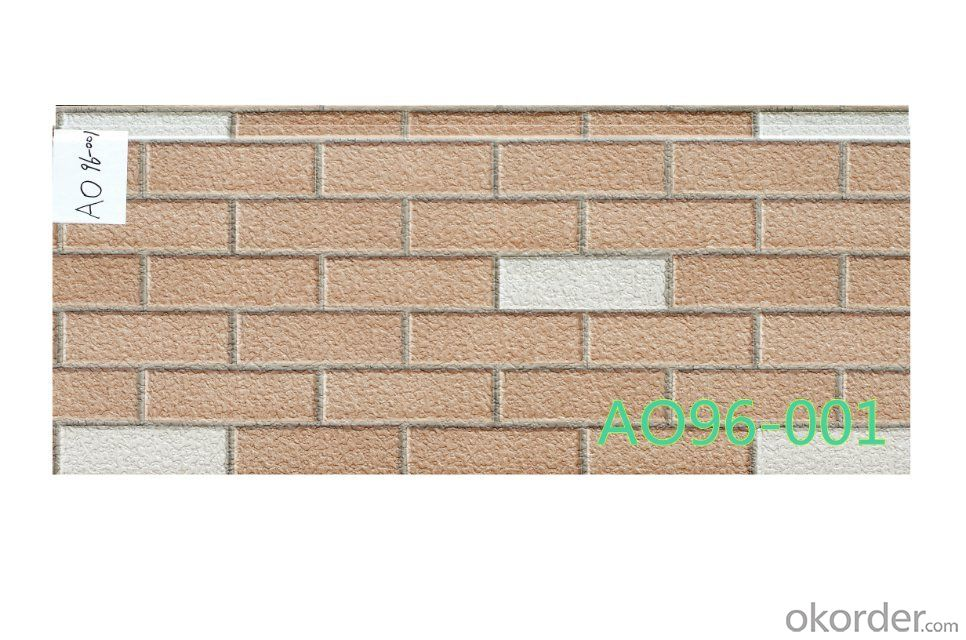 Building facade panel or PU foam siding wall cladding